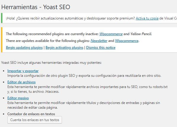 sitemap yoast seo paso a paso