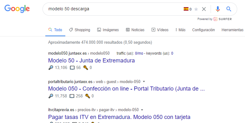 search intent seo tipos