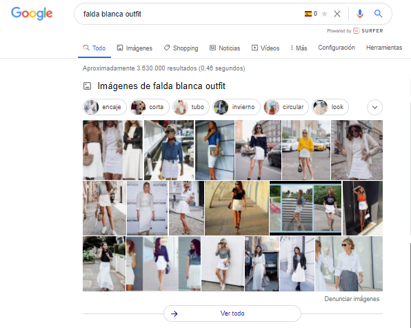 search intent hacer intención de busqueda ver