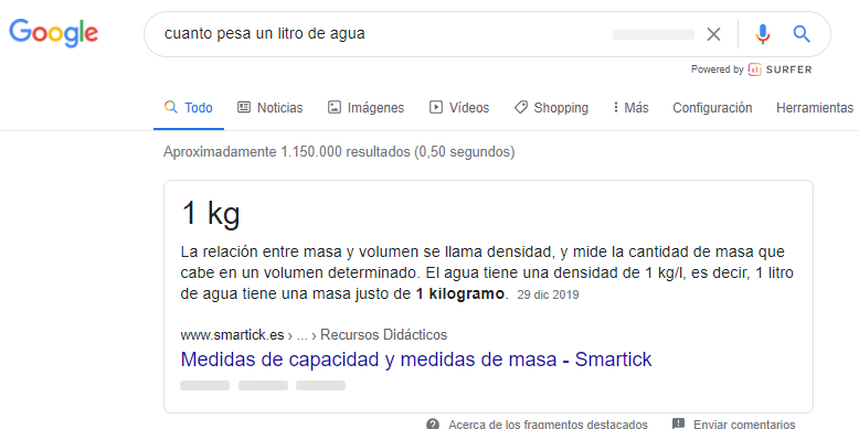 search intent posicionamiento web