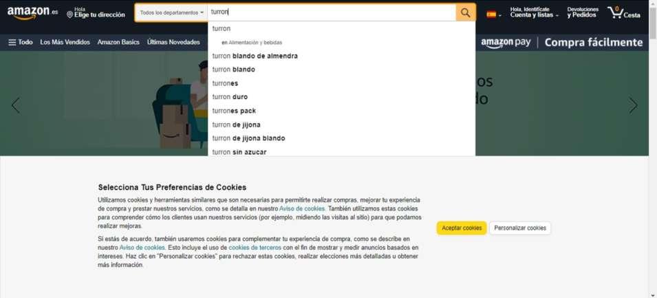 como encontrar palabras clave en amazon