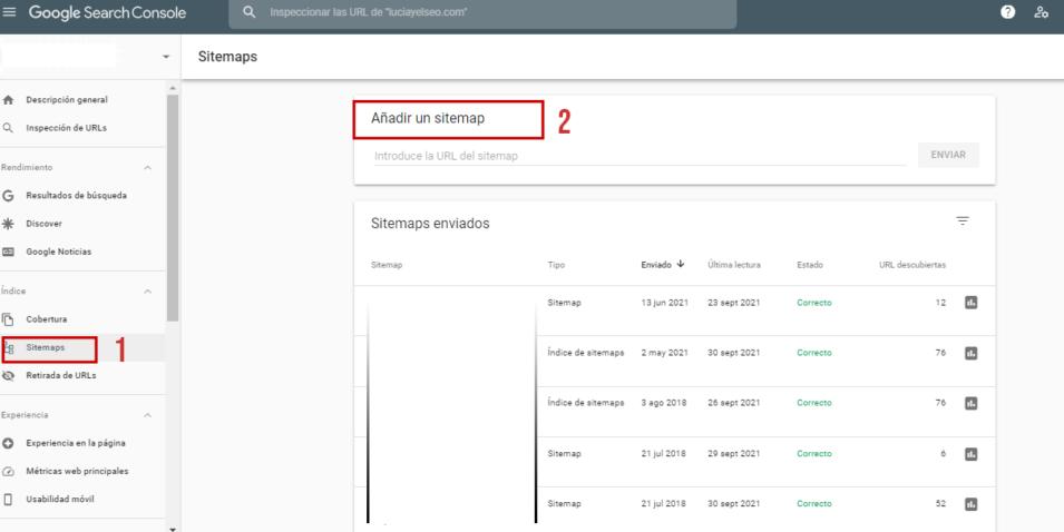 comprobar sitemaps search console ¿Qué es la Indexación?